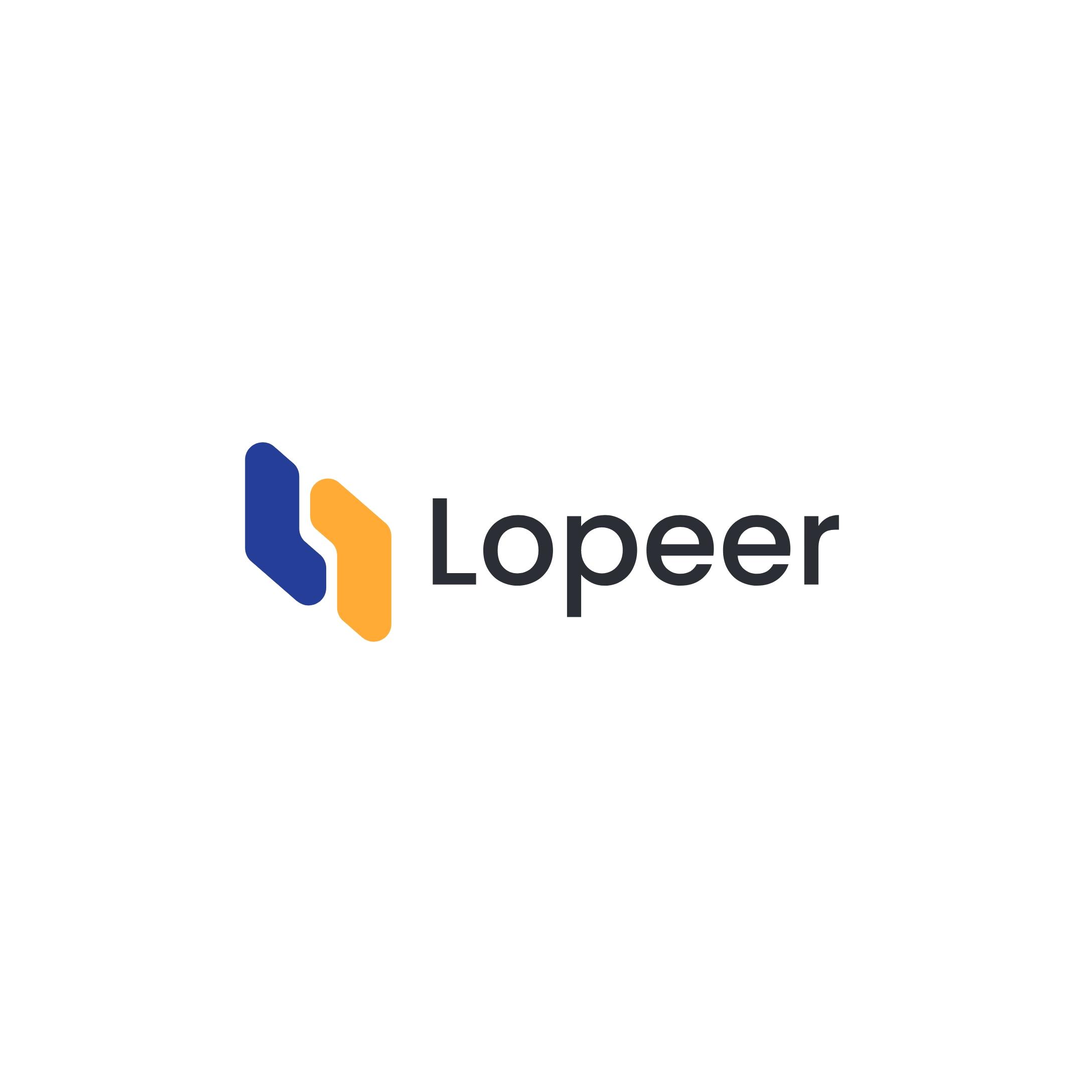 lopeer blu logo Press & Media Kit