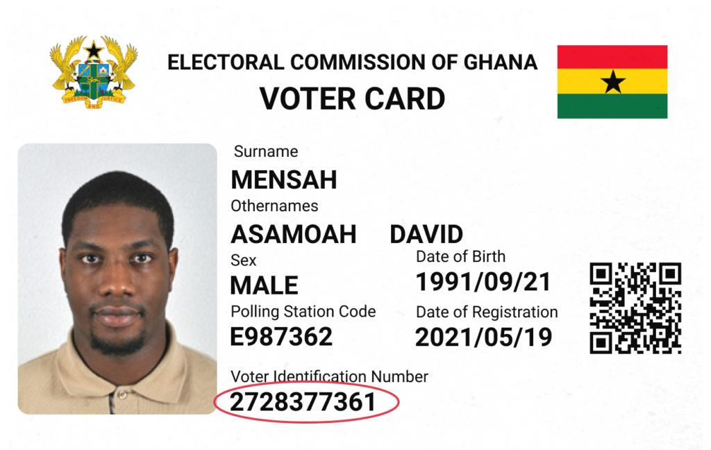 New Ghana Voter ID 1 Supported ID Cards