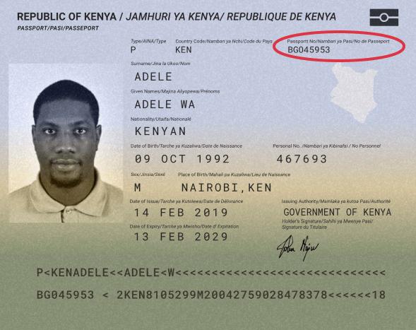 kenyainternational Supported ID Cards