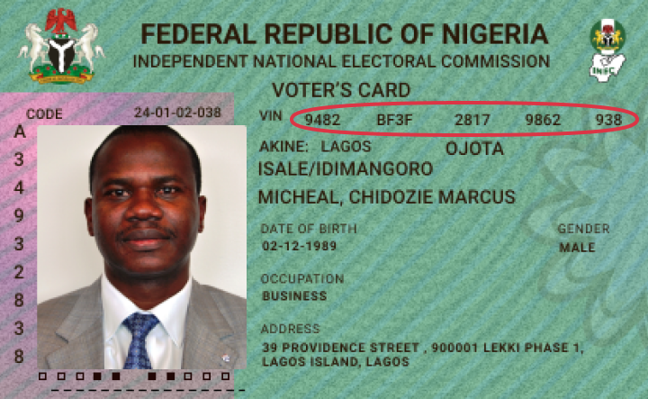 votercard IDtype Supported ID Cards