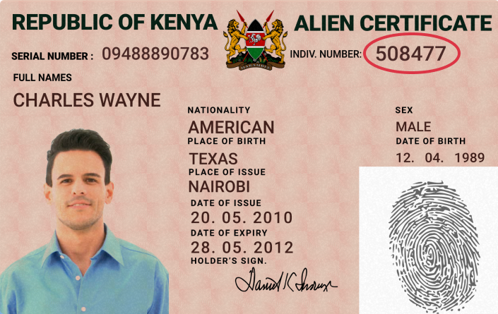 Ken Alien updated 1 Supported ID Cards